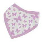 Butterfly Bib by Organics for kids available to buy from Footsie 100 Ltd