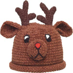 Child's Deer Hat from Footsie 100 Ltd
