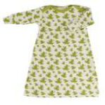 Frog Nightgown from Organics for Kids for sale from Footsie 100 Ltd
