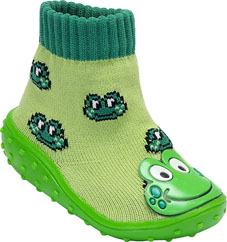 Frog on Toe BabyShocks from Bical & Footsie 100 Ltd