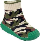 Green Camouflage BabyShocks from Bical & Footsie 100 Ltd
