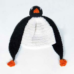 Childs Penguin Hat from Footsie 100 Ltd
