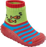 Stripey Fish BabyShocks from Footsie 100 Ltd & Bical