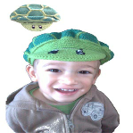 Turtle Child's Beret from Footsie 100 Ltd